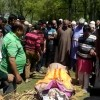 Muslims perform last rites of Kashmiri Pandit woman in Ganderbal