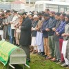 Mirwaiz leads funeral prayers of former HOD of law school Kashmir University