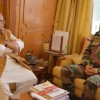Army Commander brief Governor about security situation