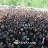 In Pictures: Thousands of people participated in the funeral prayers of militant killed in South Kashmir