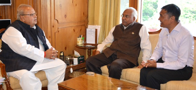 DG IMD meets Governor ahead of Yatra