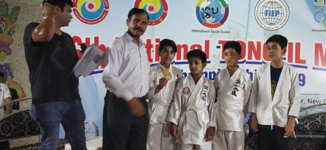 GVEI students get laurels in National Tong-il-Moo-Do Championship