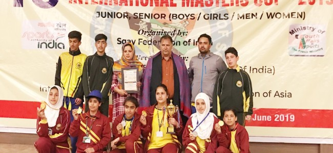 GVEI students outshine in SQAY National Championship