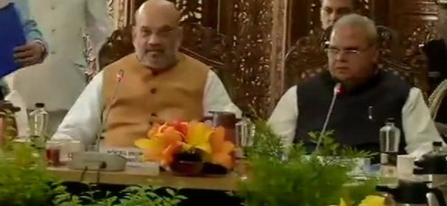 Amit Shah reviews security arrangements for Amarnath Yatra