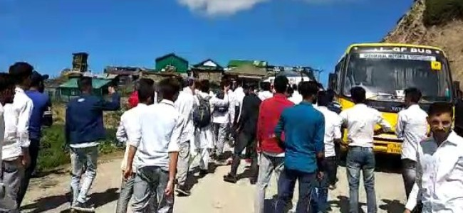 Army man slaps Professor, misbehaves with students at Sadhna Top, protests erupt