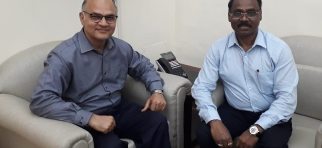 Advisor Sharma meets Union Expenditure Secretary, urges early release of central grants