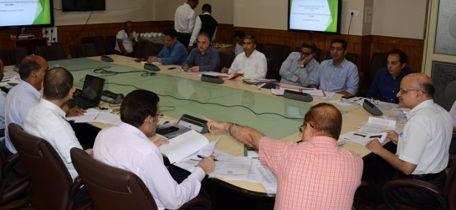 Chief Secretary for speeding up procurement of fruit through MIS