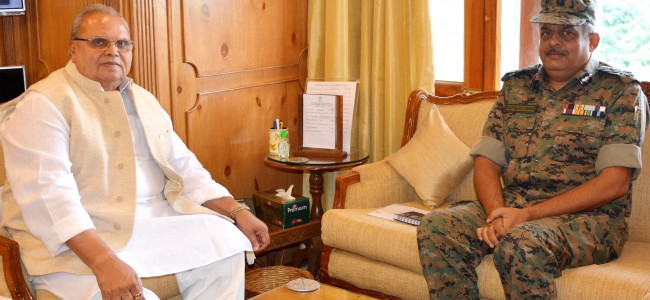 ADG CRPF meets Governor