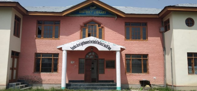 District Library Pulwama hit by staff crunch, no latest procurement of books done