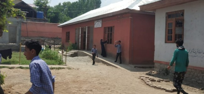 GMS Murran Pulwama lacks infrastructure, students suffer