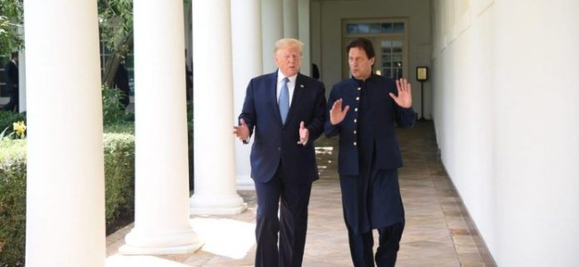 Following Trump-Imran meet US to support Pak's F-16 fighter jets for 24×7 end-use monitoring