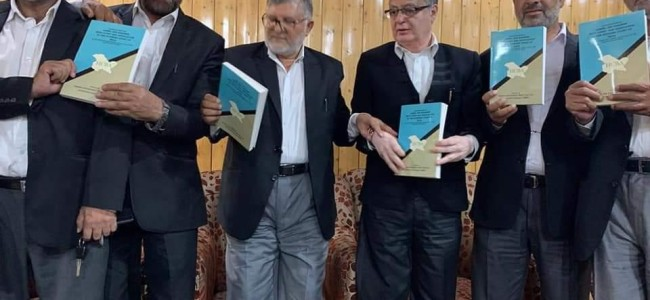 High court bar association releases book on Article 35-A