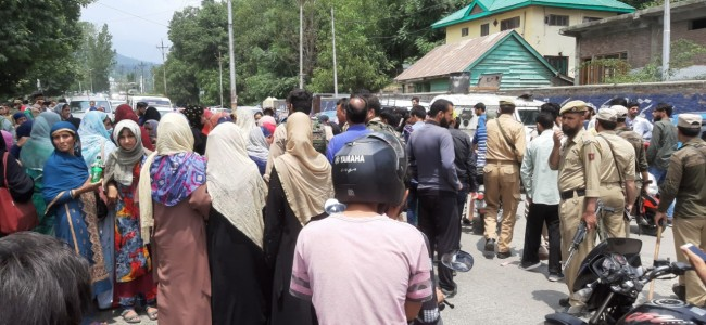 ICDS workers protest against Govt's decision 'salary after sarpanch's sign'
