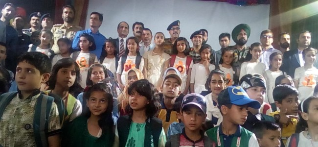 Army Goodwill School Ziran celebrates annual day, students enthral audience