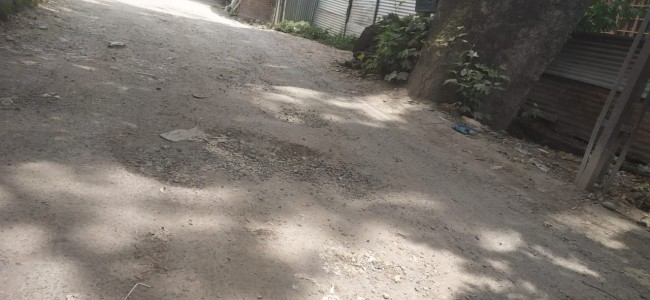 Safapora road in shambles, residents suffer