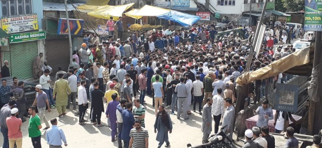 Shutdown in Banihal over mysterious disappearance of goat trader
