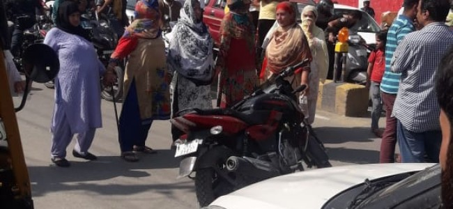 Shivpora protests against PHE over portable water scarcity