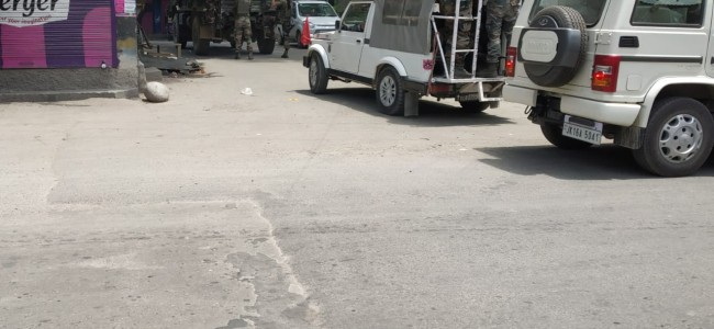 Forces lay siege over Theeru Ganderbal, searches launched