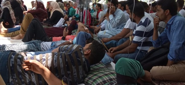 JKMEF hunger strike continues for second straight day