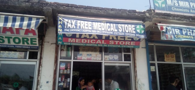 Qazigund: Government supply surgical stitches sold at private shop, authorities launch probe