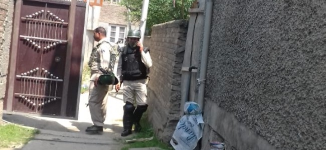 NIA raids Tral student's rented accommodation in Kursoo Rajbagh