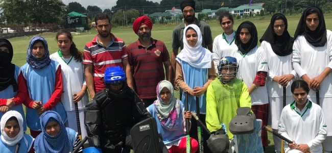 Inter College Women 5-A-Side Hockey Tournament begins at KU