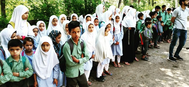 Pulwama: Several schools locked by land donors, students suffer