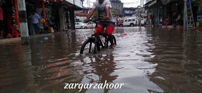 'Smart City' In Pics: Of rains, waterlogged streets, submerged city centre roads and a failed SMC