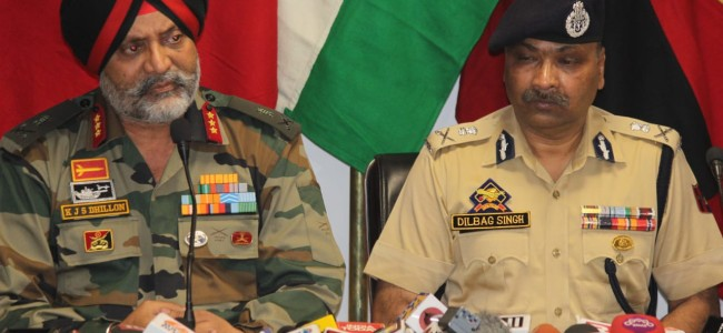 American sniper rifle recovered along Amarnath route, LOC is peaceful: Lt Gen KJS Dhillon
