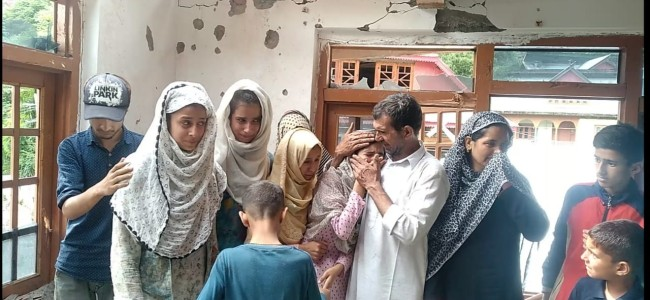 All for daughters marriage destroyed, says father, as cross LOC shelling pound Tanghdhar