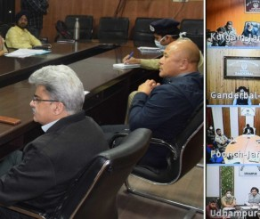 CS interacts with DCs through video conference on Covid-19 efforts