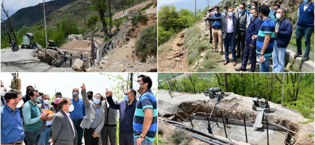 Malshahibagh Canal Breach: Div Com takes stock of restoration work