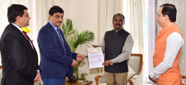 Excise department donates Rs 2 cr towards J&K Relief Fund