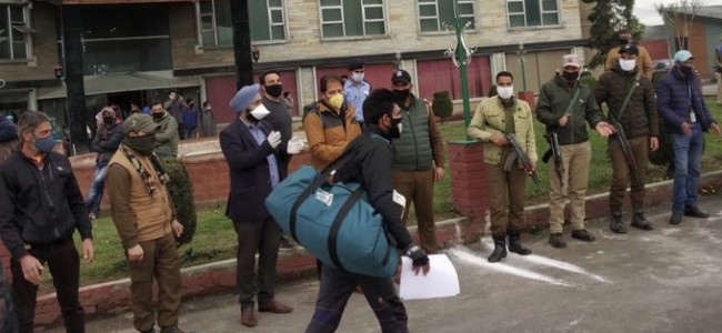 236 more persons discharged after completing quarantine period in Srinagar