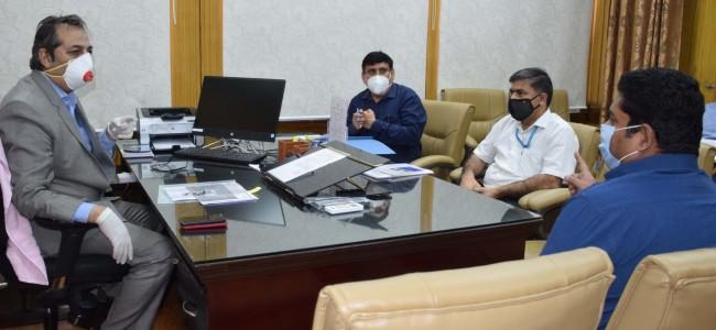 Baseer Khan convenes meeting to resolve issues regarding 400 KV Baghlihar-Kishanpur line