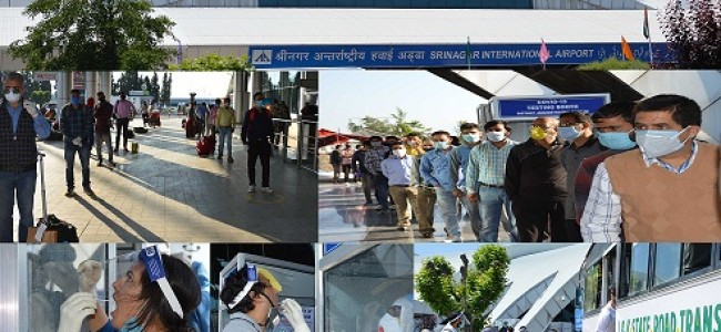 KCC&I Hails Arrangements At Airport, Demands Evacuation Of J&K's Stranded From Kyrgyzstan, Other Countries