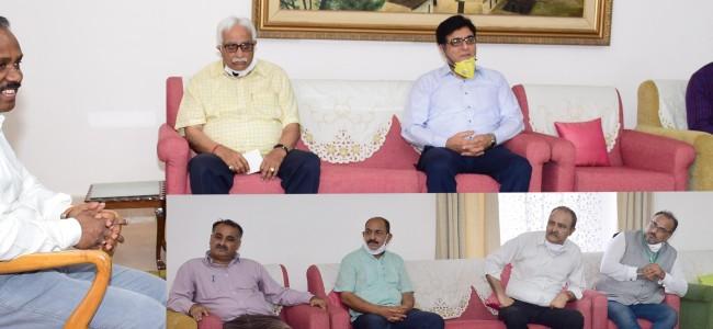 KP delegations call on LG, term Domicile Law a historic milestone