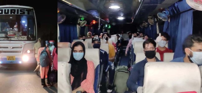 GoI Assures Facilitating Return Of J&K's Stranded In Iran, Dubai, Oman