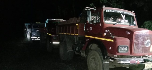 COVID-19 lockdown: 7 tippers seized, drivers arrested in Ganderbal