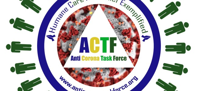 'Anti Corona Task Force Not Only Speak But Act'